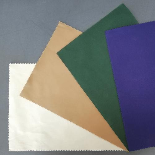 diverse farbige Stoffe für Sonnensegel